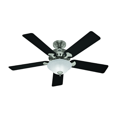 Hunter Fan Company Hunter Fan Company the Sonora Antique Pewter Ceiling Fan with Light 53171
