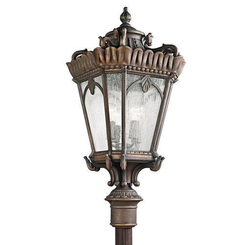 Kichler Lighting Kichler Post Light with Clear Glass in Londonderry Finish 9565LD