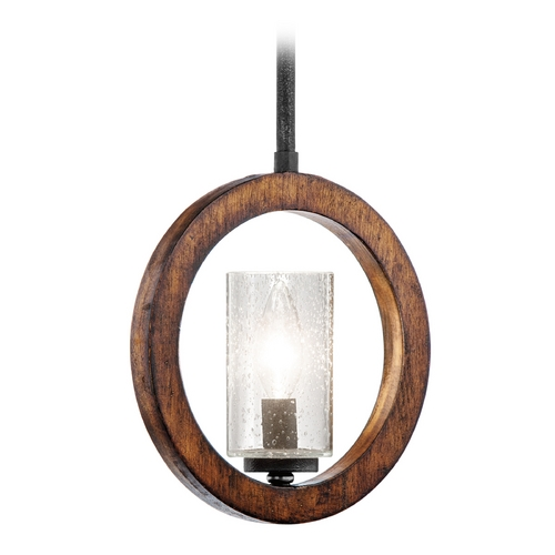 Kichler Lighting Kichler Mini-Pendant Light with Clear Glass 43189AUB