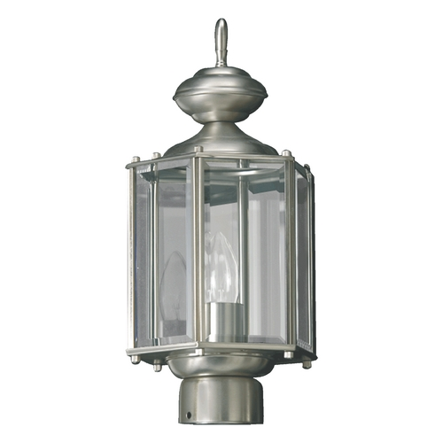 Quorum Lighting Quorum Lighting Satin Nickel Post Light 714-65