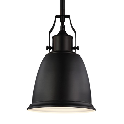 Feiss Lighting Feiss Hobson Oil Rubbed Bronze Mini-Pendant Light P1357ORB