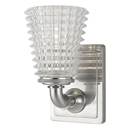 Hudson Valley Lighting Westbrook 1 Light Sconce - Satin Nickel 6221-SN