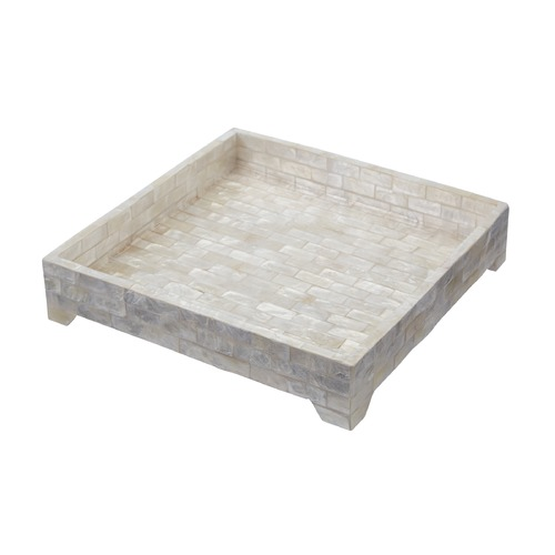 Dimond Home Square Capiz Tray 163-023