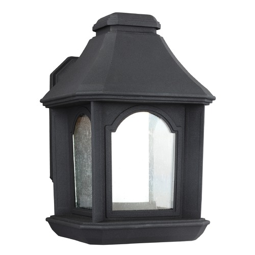 Feiss Lighting Feiss Lighting Ellerbee Textured Black LED Outdoor Wall Light OL11500TXB-LED