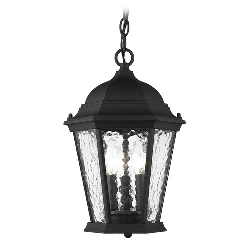 Livex Lighting Livex Lighting Hamilton Textured Black Outdoor Hanging Light 75469-14