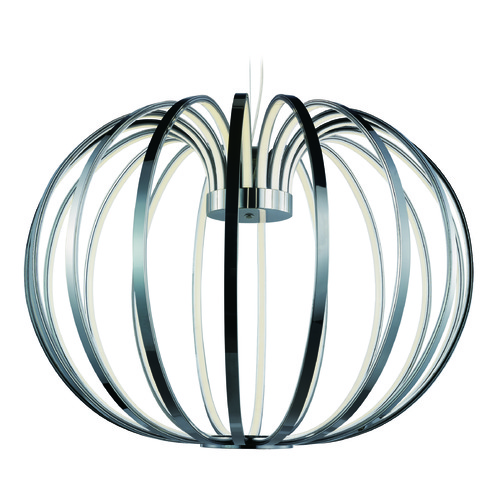 ET2 Lighting Argent Polished Chrome LED Pendant Light E24524-PC