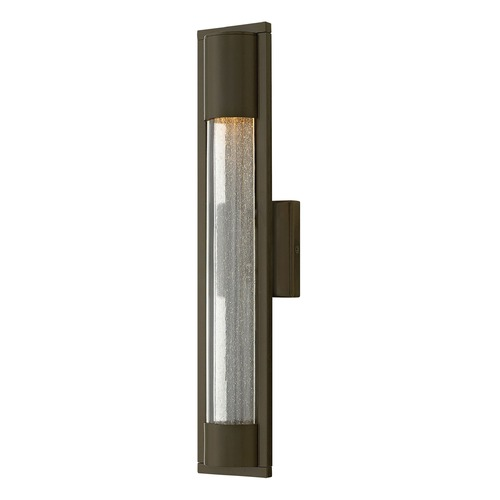 Hinkley Seeded Glass Outdoor Wall Light Bronze Hinkley 1224BZ