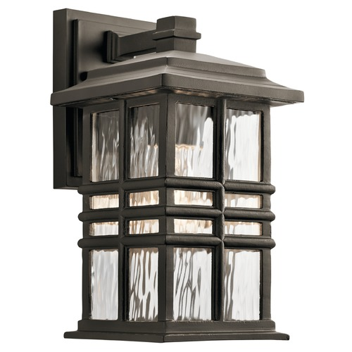 Kichler Lighting Kichler Lighting Beacon Square Olde Bronze Outdoor Wall Light 49829OZ