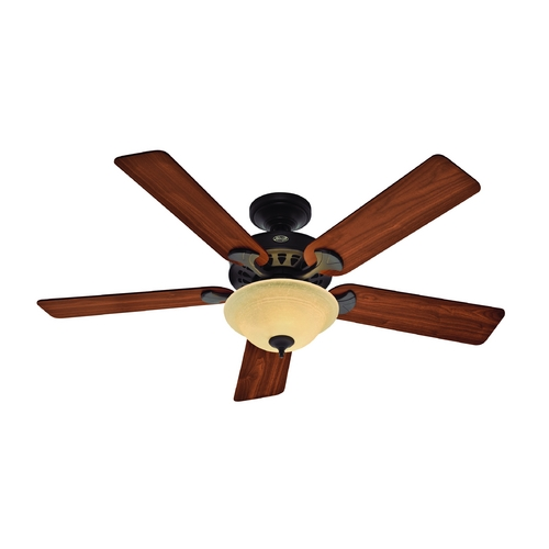 Hunter Fan Company Hunter Fan Company the Sonora New Bronze Ceiling Fan with Light 53172