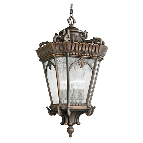 Kichler Lighting Kichler Outdoor Hanging Light with Clear Glass in Londonderry Finish 9564LD