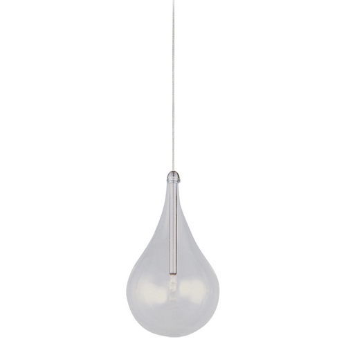 ET2 Lighting Modern Low Voltage Mini-Pendant Light with Clear Glass E94510-18SN