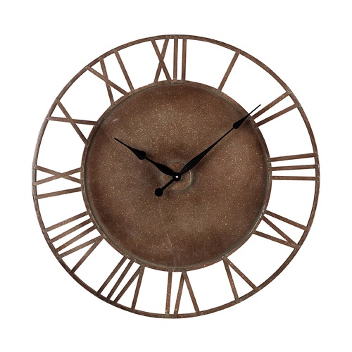 Sterling Lighting Sterling Lighting Parity Bronze Clock 128-1002