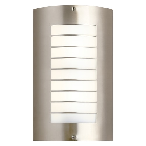 Kichler Lighting Kichler Lighting Newport Brushed Nickel Outdoor Wall Light 6048NI
