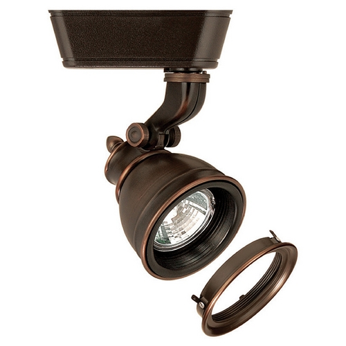 WAC Lighting Wac Lighting Antique Bronze Track Light Head HHT-874L-LENS-AB