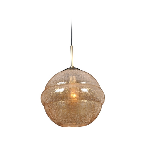 Kalco Lighting Kalco Lighting Celine Chemical Bronze Pendant Light with Globe Shade 7574CB