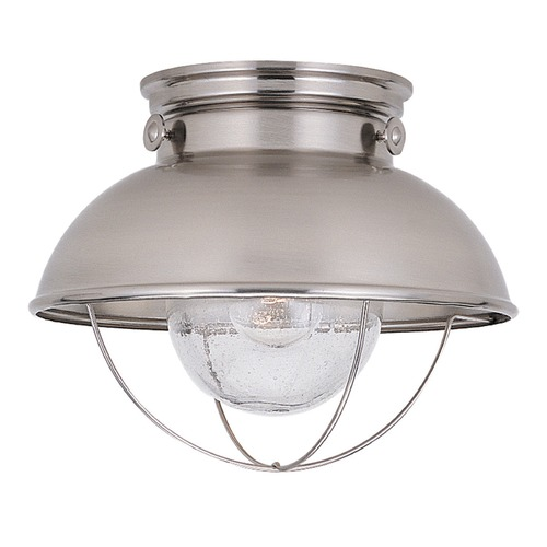 Sea Gull Lighting Sea Gull Lighting Sebring Brushed Stainless LED Close To Ceiling Light 886991S-98