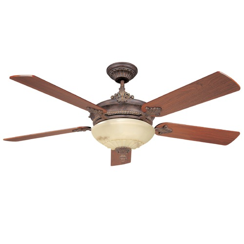 Savoy House Savoy House Autumn Gold Ceiling Fan with Light 52-15-5WA-AG