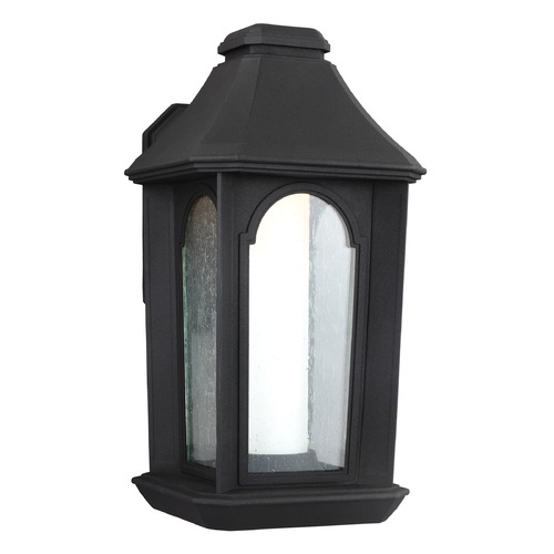 Feiss Lighting Feiss Lighting Ellerbee Textured Black LED Outdoor Wall Light OL11501TXB-LED