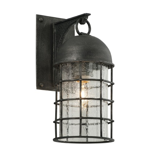 Troy Lighting Troy Lighting Charlemagne Aged Pewter Outdoor Wall Light B4431