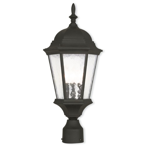Livex Lighting Livex Lighting Hamilton Textured Black Post Light 75468-14