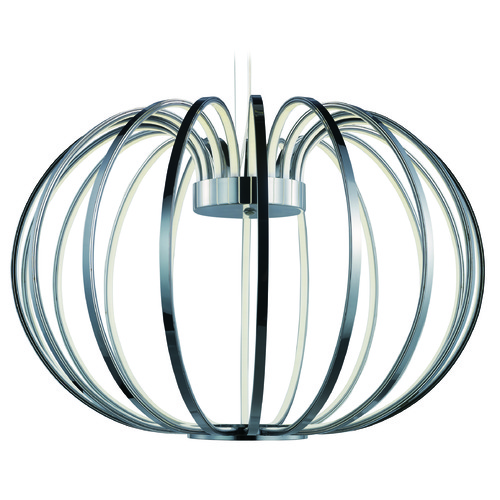 ET2 Lighting Argent LED Polished Chrome LED Pendant Light E24526-PC