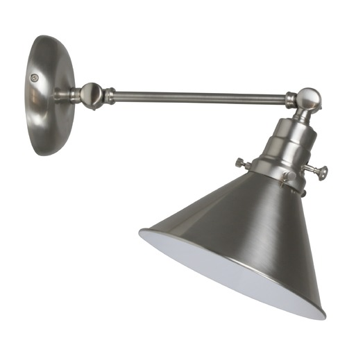 House of Troy Lighting House Of Troy Otis Satin Nickel Wall Lamp OT675-SN-MS