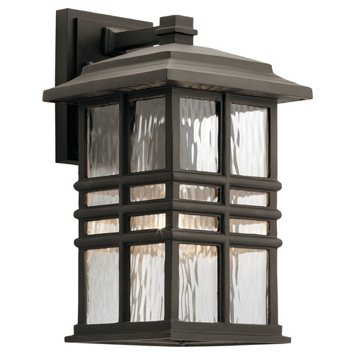 Kichler Lighting Kichler Lighting Beacon Square Olde Bronze Outdoor Wall Light 49830OZ