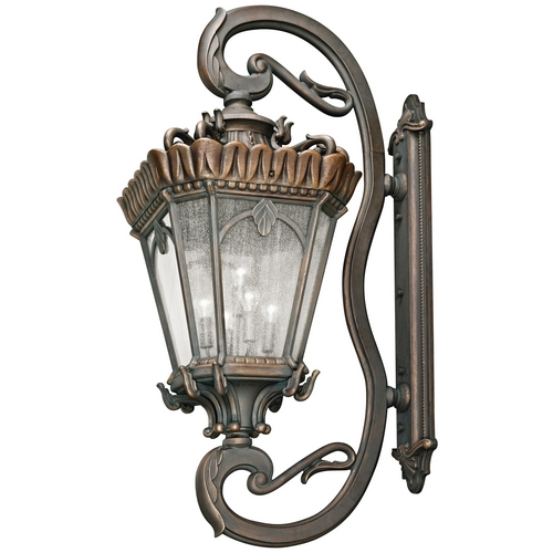 Kichler Lighting Kichler Outdoor Wall Light with Clear Glass in Londonderry Finish 9362LD