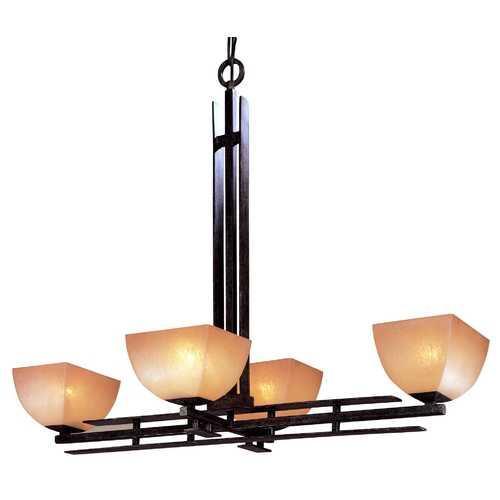 Minka Lighting Four-Light Chandelier 1274-357