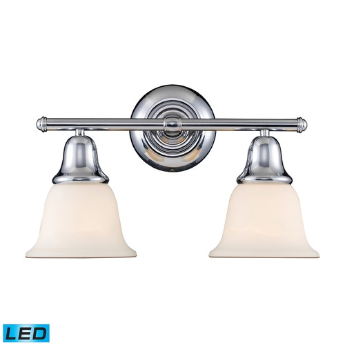 Elk Lighting Elk Lighting Berwick Polished Chrome LED Bathroom Light 67011-2-LED