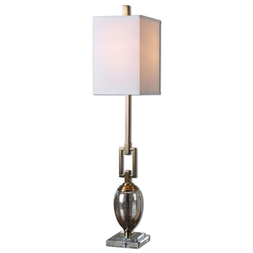 Uttermost Lighting Uttermost Copeland Mercury Glass Buffet Lamp 29338-1