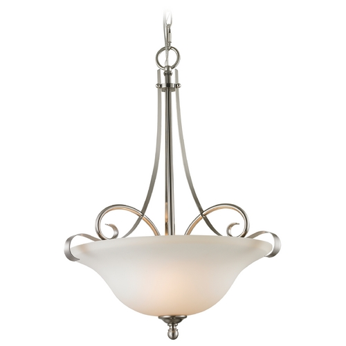 Cornerstone Lighting Cornerstone Lighting Brighton Brushed Nickel Pendant Light 1003PL/20