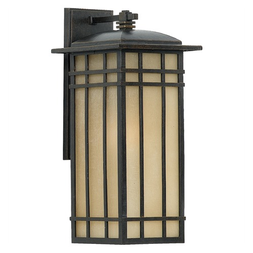 Quoizel Lighting Quoizel Hillcrest Imperial Bronze Outdoor Wall Light HCE8509IBFL
