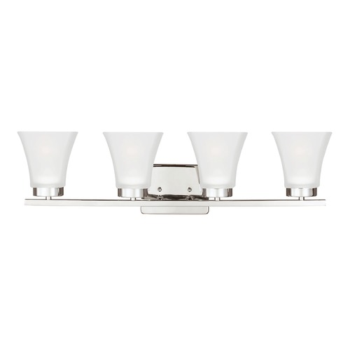 Sea Gull Lighting Sea Gull Lighting Bayfield Chrome Bathroom Light 4411604-05