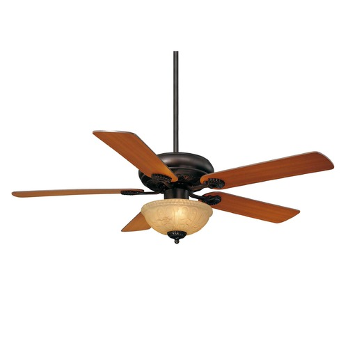 Savoy House Savoy House English Bronze Ceiling Fan with Light 52-411-5RV-13