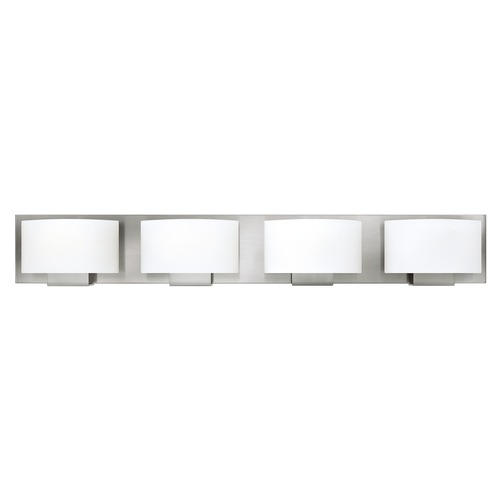 Hinkley Lighting Hinkley Lighting Mila Brushed Nickel Bathroom Light 53554BN