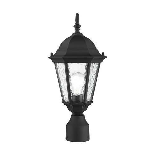 Livex Lighting Livex Lighting Hamilton Textured Black Post Light 75464-14