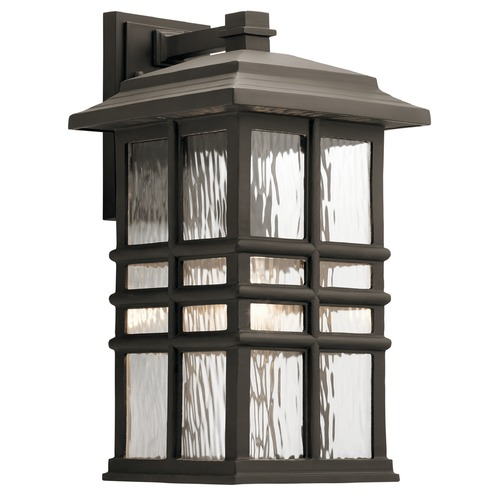 Kichler Lighting Kichler Lighting Beacon Square Olde Bronze Outdoor Wall Light 49831OZ