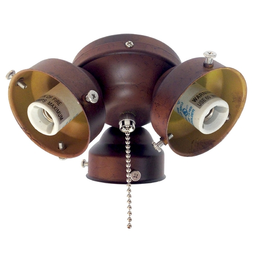 Fanimation Fans Light Kit in Antique Brass Finish F301AB