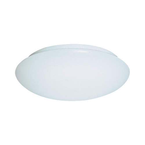 Sea Gull Lighting Modern Flushmount Light with White in White Finish 59055BLE-15