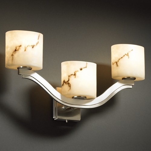 Justice Design Group Justice Design Group Lumenaria Collection Sconce FAL-8976-30-NCKL