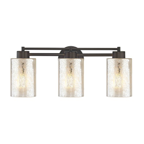 Design Classics Lighting Mercury Glass Bathroom Light Bronze 703-220 GL1039C