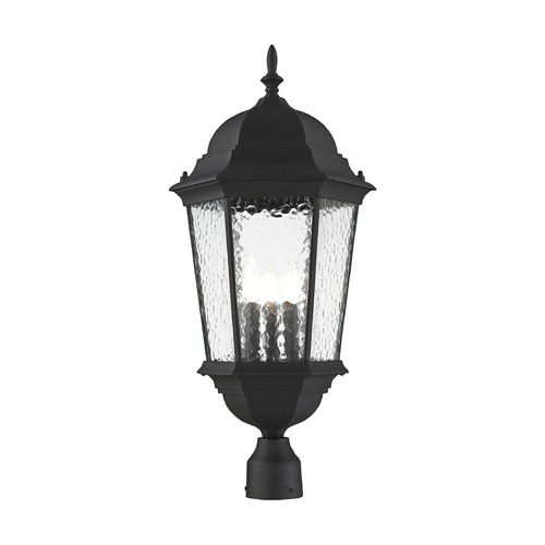 Livex Lighting Livex Lighting Hamilton Textured Black Post Light 75474-14