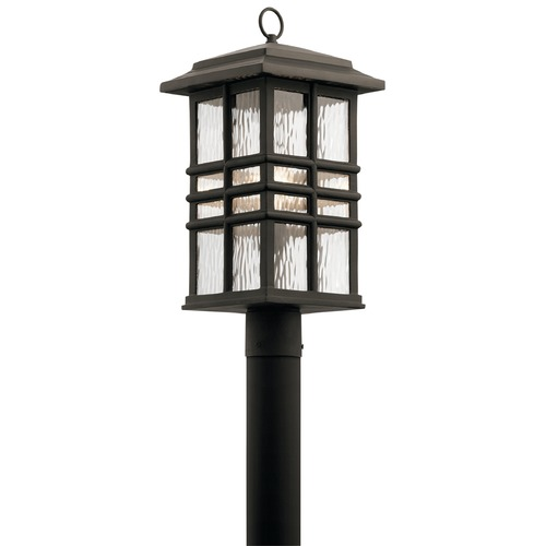 Kichler Lighting Kichler Lighting Beacon Square Olde Bronze Post Light 49832OZ