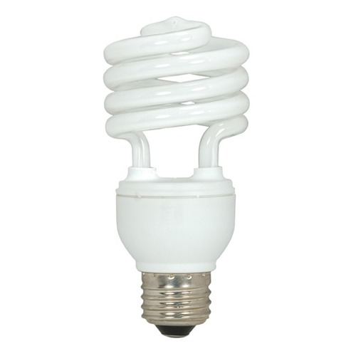 Satco Lighting 18-Watt Cool White Compact Fluorescent Light Bulb S7225