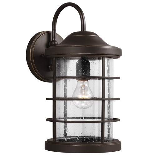Sea Gull Lighting Sea Gull Lighting Sauganash Antique Bronze Outdoor Wall Light 8624401-71