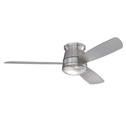 Savoy House Savoy House Satin Nickel Ceiling Fan with Light 52-417-3SV-SN