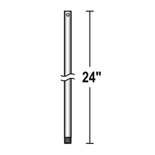 Savoy House Savoy House Lighting Aged Steel Fan Downrod DR-60-242