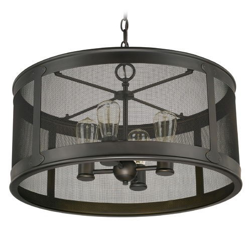 Capital Lighting Capital Lighting Dylan Old Bronze Outdoor Hanging Light 9618OB