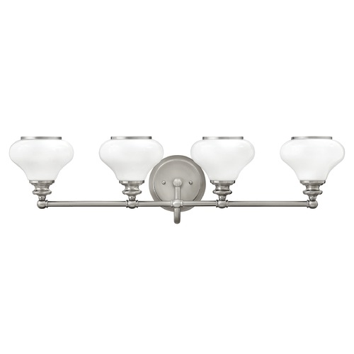 Hinkley Lighting Hinkley Lighting Ainsley Brushed Nickel Bathroom Light 56554BN
